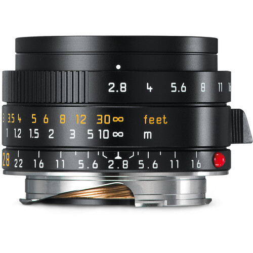 Leica Elmarit-M 28mm f/2.8 ASPH. Lens (Made in Portugal)