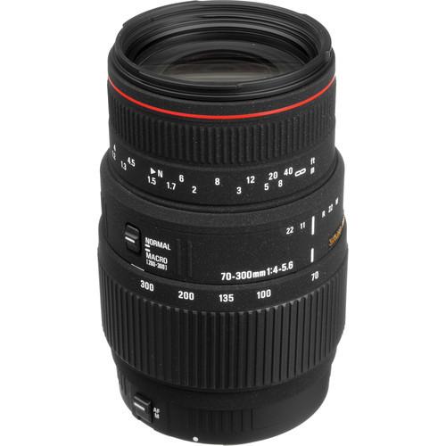Sigma 70-300mm f/4-5.6 Apo DG Macro For Canon