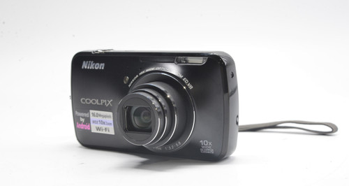 COOLPIX S800c Digital Camera (Black)
