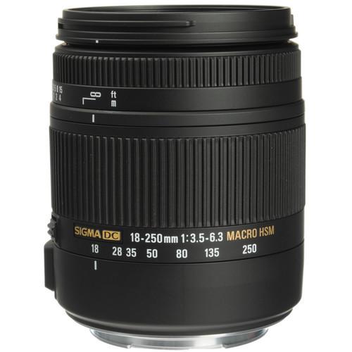 Sigma 18-250mm f/3.5-6.3 DC Macro OS HSM For Nikon