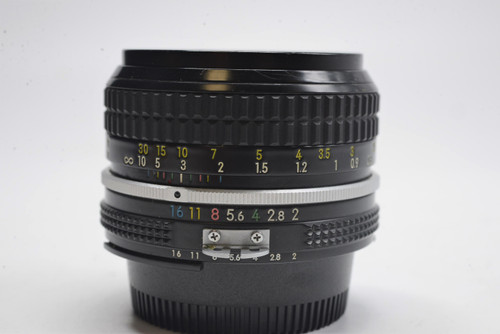 Pre-Owned - Nikkor 50mm f/2.0 AI Manual Focus Lens