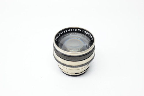 Pre-Owned - Carl Zeiss Jena Sonnar 5cm F1.5 Black for Contax rangefinder RARE