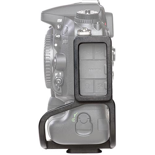 Kirk BL-D7100G L-Bracket for Nikon D7100 with MB-D15 Battery Grip