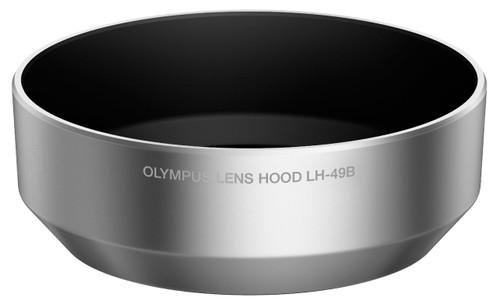 Olympus LH-49B Lens Hood for 14-42mm f/2.8 Micro Four Thirds Lens (Silver)