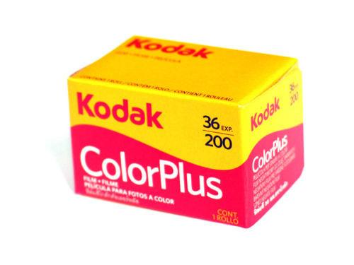 Kodak Color Plus 35mm Film 200 36 Exp (Color)