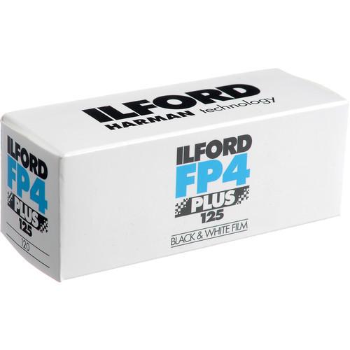 Ilford FP4 Plus 120 Film 125 (B&W)