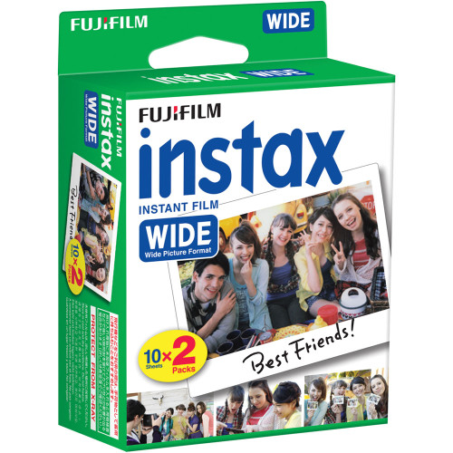 Fuji Instax Wide film  10Sheets X 2 Packs