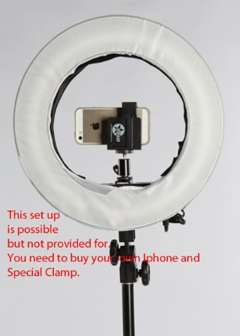 """12"""" Ringlight With Stand Mount"""