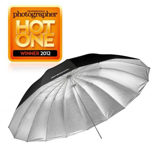 7' Parabolic Umbrella (Silver)