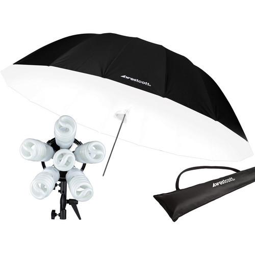 Spiderlite TD6 Parabolic Umbrella Holiday Kit