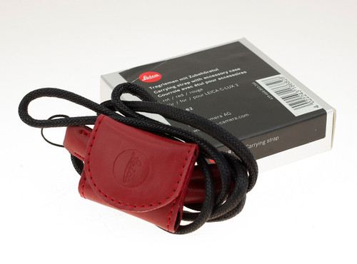 Carrying Strap W/Accessory Case/Red