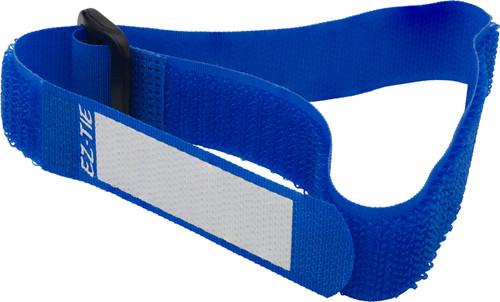 EZ-TIE Deluxe Cable Ties 0.78 X 16.1''-Blue(10Pk)