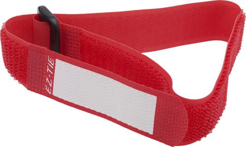 EZ-TIE Deluxe Cable Ties 0.78 X 16.1''-Red (10 Pk)