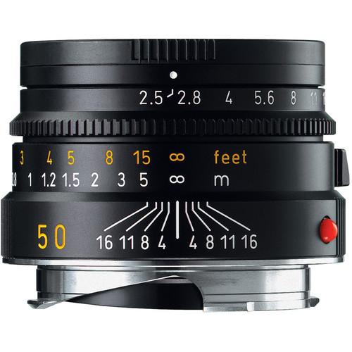 Pre-Owned - Leica Summarit-M 50MM F/2.5 (Black)