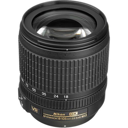 Nikon AF-S DX 18-105mm F/3.5-5.6 VR
