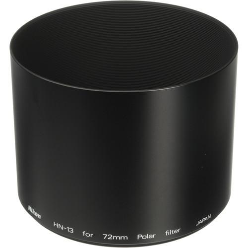 Hn-13 Lens Hood For 72Mm Polarizing Filter