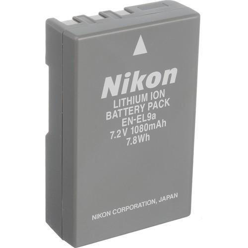 EN-EL9A Rechargeable Li-Ion Battery