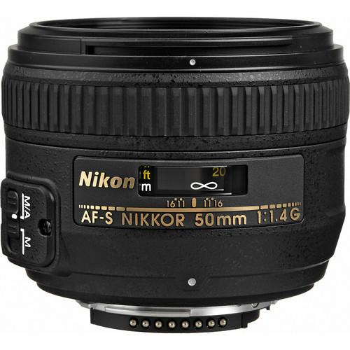 Nikon AF-S FX 50mm f/1.4G FX