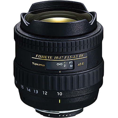 10-17mm F3.5-4.5 DX Fisheye Zoom w/ Hood For Canon