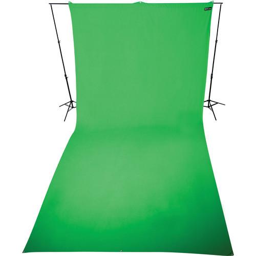 9x20' Wrinkle-Resistant Cotton Background (ChromaKey Green)