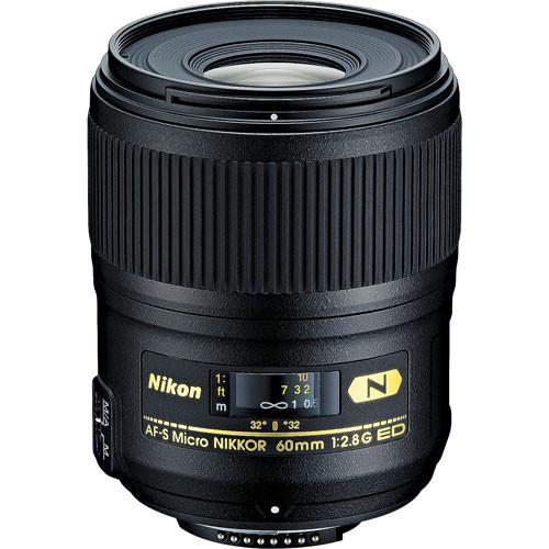 Nikon AF-S FX 60mm f/2.8G ED Nano Micro-Nikkor (ACE31064)