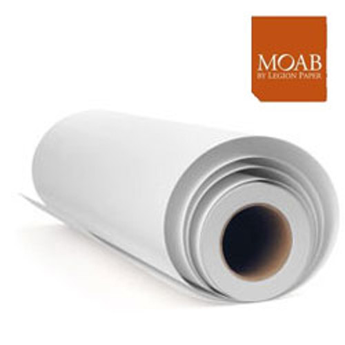 """Moab Lasal Exhibition Luster Paper (44"""" X 100' )"""