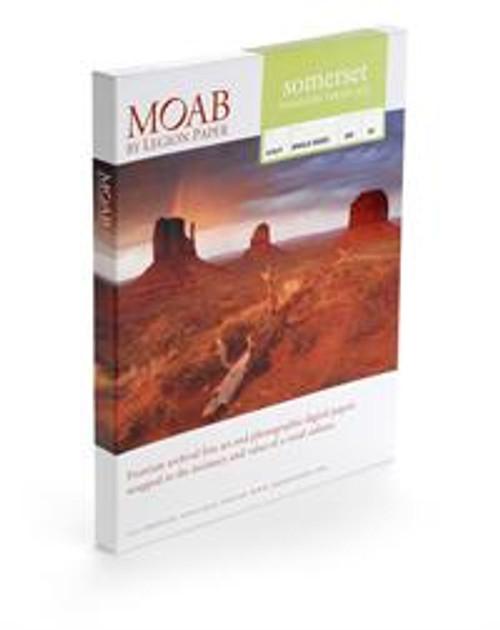 Moab Somerset Enhanced Velvet 225- 8.5X11 25 Sheet