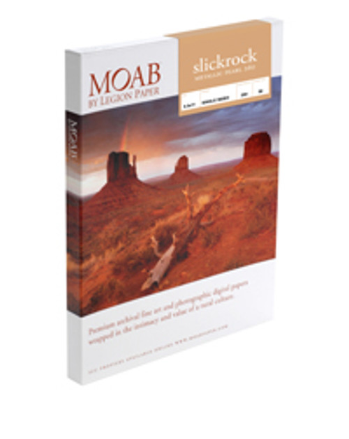 Moab Slickrock Metallic Silver 300  5X7 50 Sheets