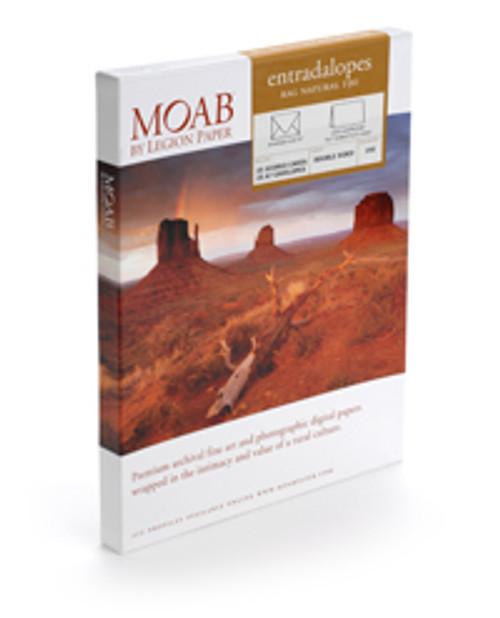 "Moab Entradalops Natural 190 Cards  W/EVP 7 X 10""  25 H"