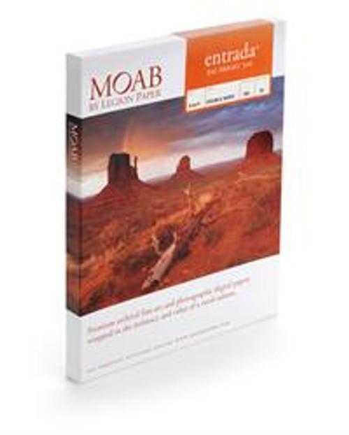 "Moab Entrada Rag Bright 300 Paper For Inkjet - 17""X40'"