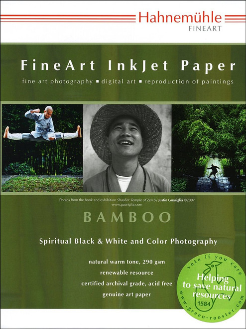 """Hahnemuhle 13 x 19"""" Bamboo Fine Art Paper (25 Sheets)"""