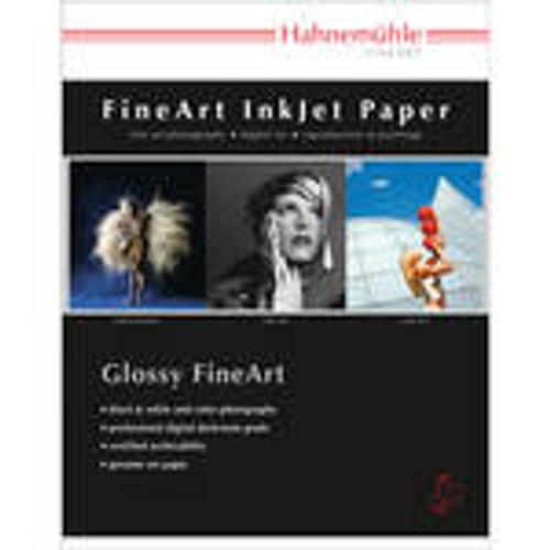 "Hahnemuhle Fine Art Baryta FB, Bright White High Gloss Inkjet Paper, 350 gsm, 8.5x11"", 25 Sheets"