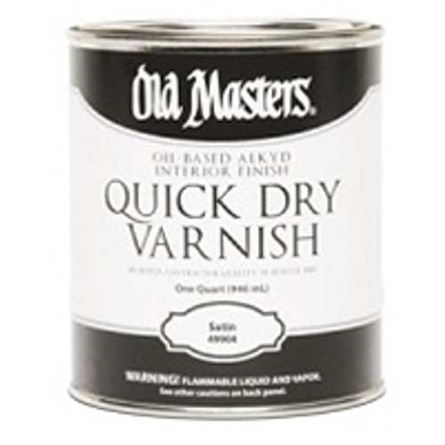 Master Varnish Satin Slow Dry 1 quart
