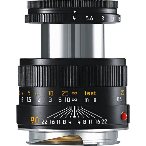 Leica Macro-Elmar-M 90mm f/4 Lens