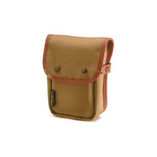 Delta End Pocket (Khaki With Tan Trim)