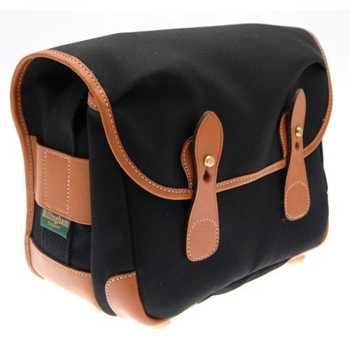 Billingham Packington Shoulder Bag Black/Tan