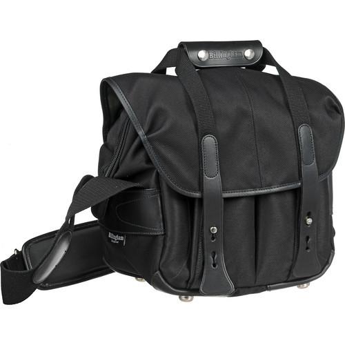 107 Camera Bag (Black With Black Leather Trim)