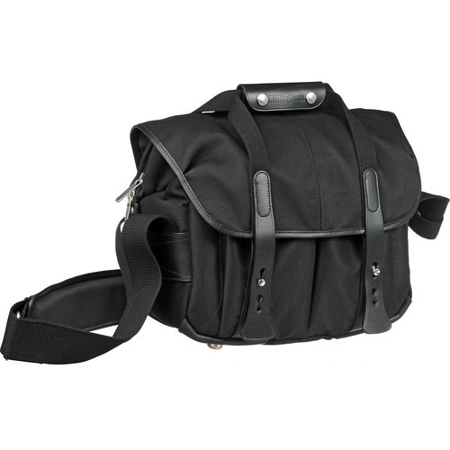207 Camera Bag (Black With Black Leather Trim)