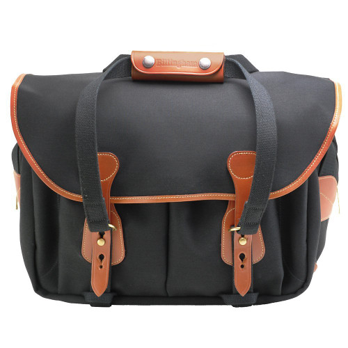 225 Shoulder Bag (Black/Tan)
