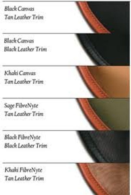 Attorney Case Black With Tan Trim