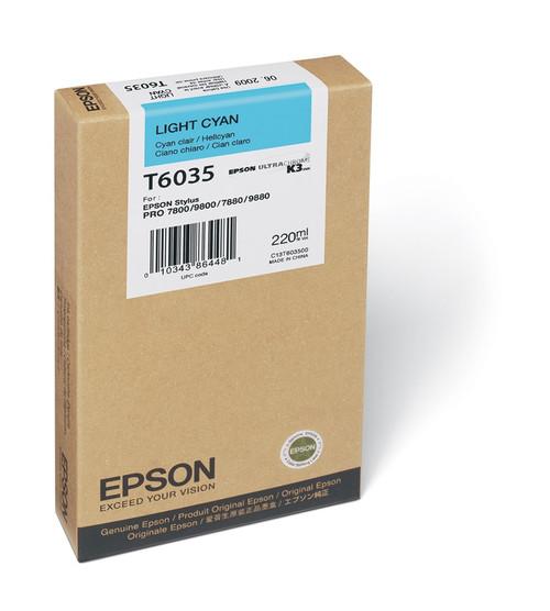 T6035/220Ml LIGHT CYAN For 7800/9800/7880/9880