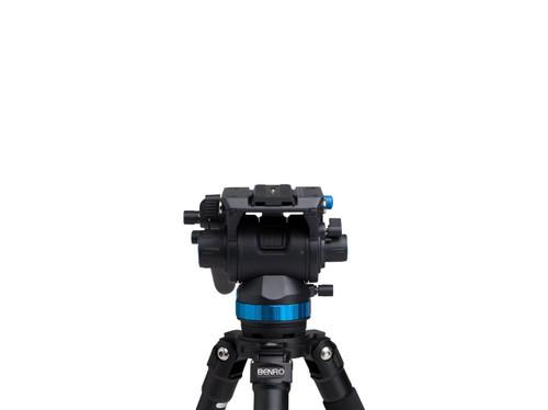 Benro S8 8Kg Video Head Stepped - 0, 2.5Kg, 5.0Kg, 8Kg +90o/-70o (Black)