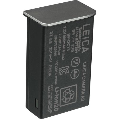 Leica BP-DC13 Lithium-Ion Battery (7.2V, 985mAh, Silver)