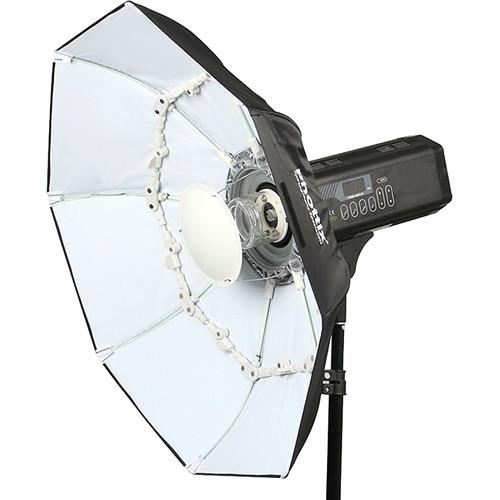 "Phottix Luna 27.5"", 70cm, Folding Beauty Dish for Studio Flash, White"