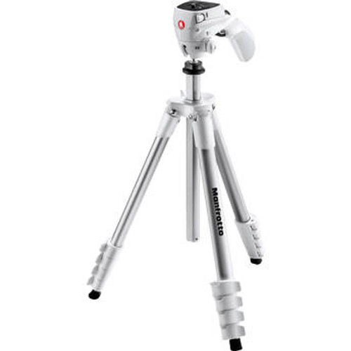 Manfrotto Compact Action Tripod-White