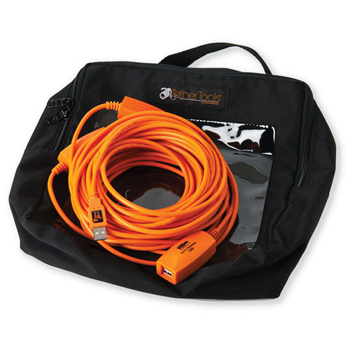 Tether Tools 4 x 16.25' (4.95 m) TetherPro USB 2.0 Active Extension Cables