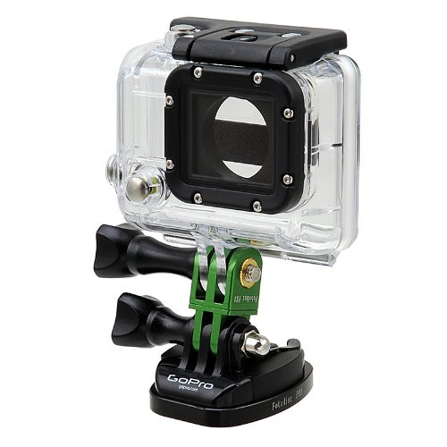 Fotodiox GoTough - Green 20mm Extender with Pivot Arm for GoPro