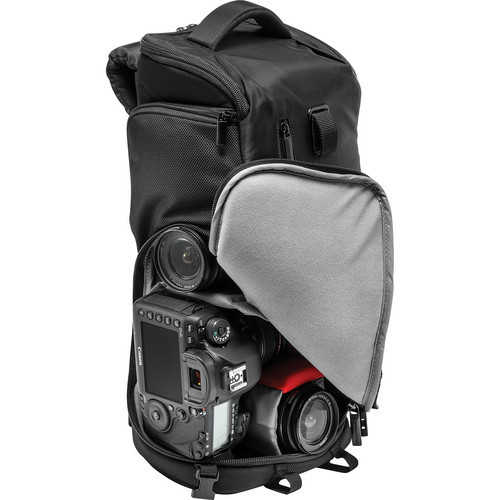 Manfrotto MB MA-BP-TS Advanced Tri Backpack, Small (Black)