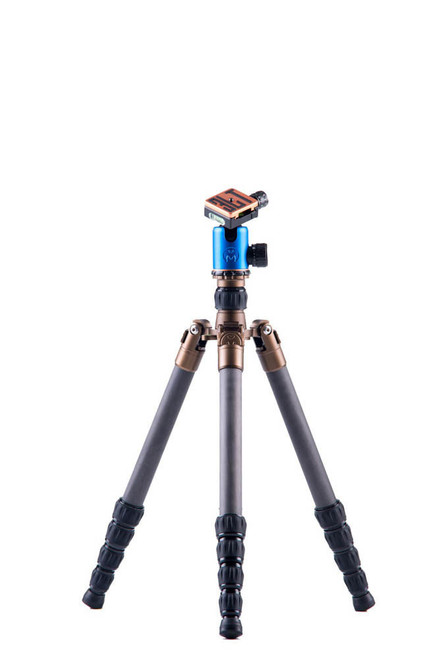 X2.1 Evolution 2 EDDIE CF Travel Tripod w/ AirHed 2 Ball Head (Blue)