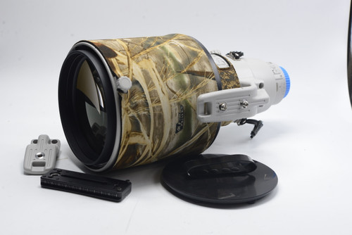Pre-Owned Canon EF 400mm F2.8L IS II USM w/hard case,front cover and hood, 200 DAY WARRANTY